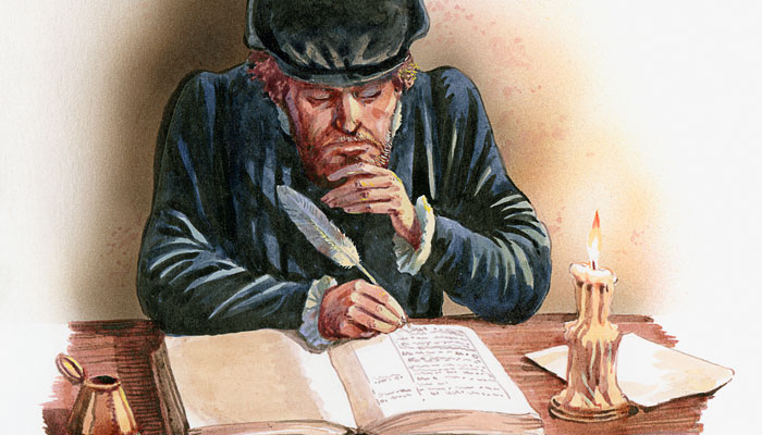 illustration-man-writing-with-quill