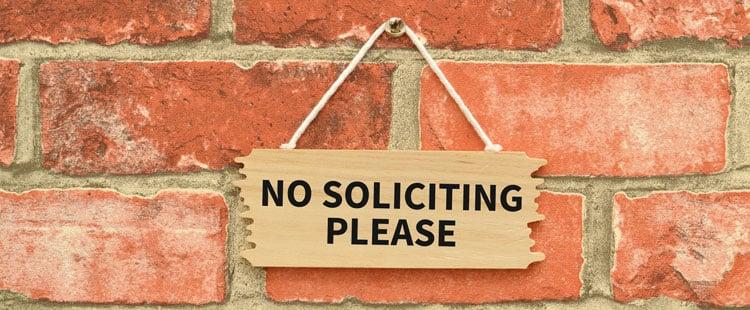 no-soliciting