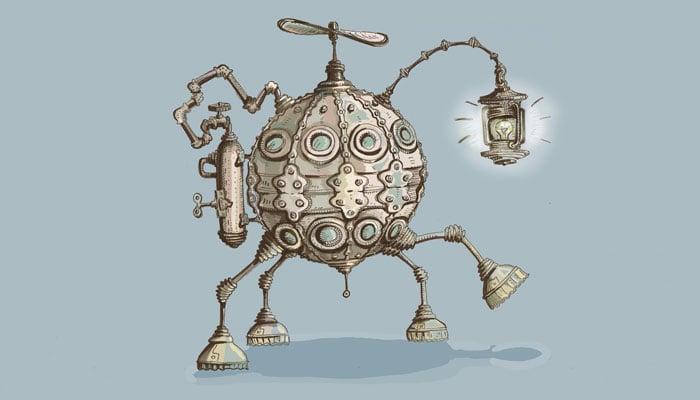 robot-steampunk