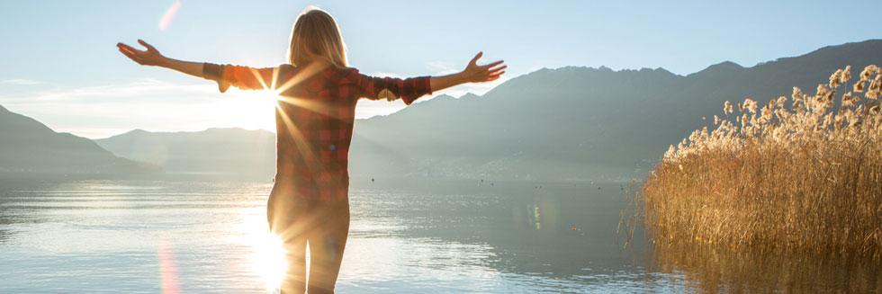 woman-by-lake