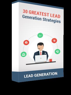 Lead Generation Strategies eBook